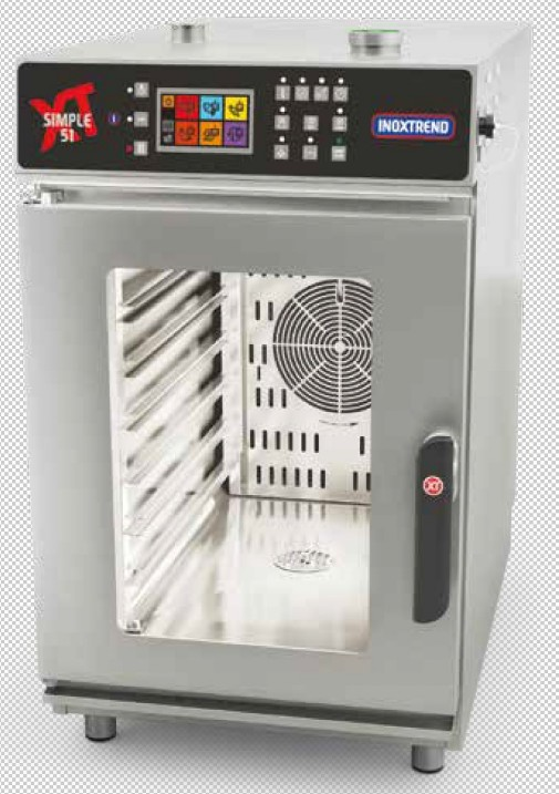 Horno mixto inoxtrend serie simple-51 Programable